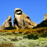 Europe, Italy, Sardinia, rock formations in Santa Teresa di Gallura on the promontory of the head chief
