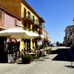 Europe, Italy, Sardinia, a street in the center of Santa Teresa di Gallura