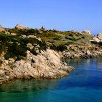 Europe, Italy, Sardinia, Santa Teresa di Gallura coast of the head with his head lighthouse