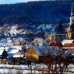 europa,romania,transilavania, tipico villaggio montano della romania dell'est |europe, romania, Transylvania, a typical mountain village in eastern Romania