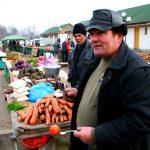 Romania, il mercato ortofrutticolo di Iasi