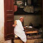Marocco quartiere dei sarti a Fes